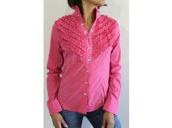 Рубашка женская розовая 2272