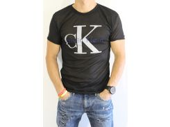 Футболка мужская Calvin Klein Реплика черная
