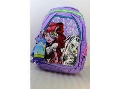 Рюкзак школьный  J-148# сиреневый
