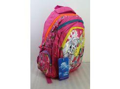 Рюкзак школьный  J-148# розовый