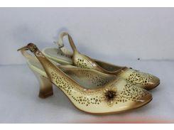 Женские туфли Leyaes B9-963 бежевые 36