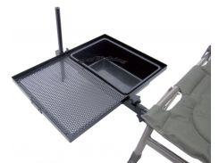 Side Tray with Bowl (Прикрепляющийся к креслу поднос с емкостью для прикормки)