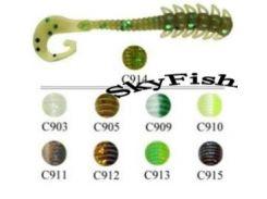 Силикон Fishing ROI Worm Tail 3808-C913 12шт 50mm
