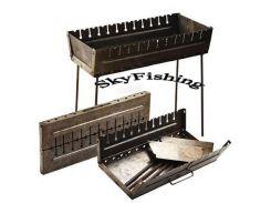 Мангал-чемодан на 12 шампуров.