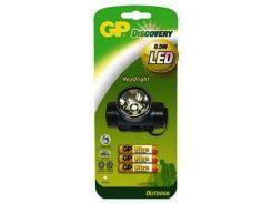 Фонарь GP LEO205 /AU 3*24 LED (налобный)