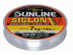 Леска Sunline Siglione V 100m #0.4/0.104mm/ 1kg