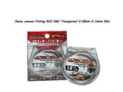 Леска зимняя Fishing ROI HMC Transparent 0.16mm 50m