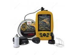 Подводная камера - 20 м кабеля,3,5-дюймовый цветной ЖК-дисплей)