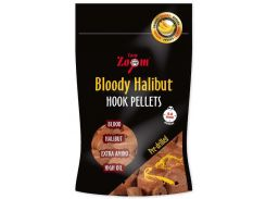 Пеллетс Carp Zoom CZ4948 Bloody Halibut Hook Pellets,8mm, pre-drilled.150g (ананас)