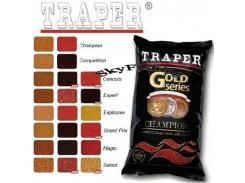 Прикормка TRAPER Gold Series Select RED 1kg