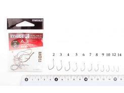 Крючки metsui AJI цвет bln, размер № 4 в уп. 12 шт.