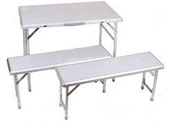 Стол складной с лавочками EOS XYT-365 бп.