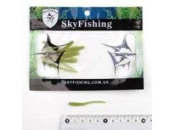 Силикон Sky Fishing Ribbed worm 50mm/color:10