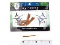 Силикон Sky Fishing Ribbed worm 50mm/color:09