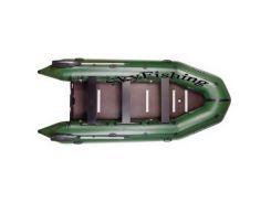 Лодка BARK BT-420Sвосьмиместная моторная килевая со сплошным разборным настилом