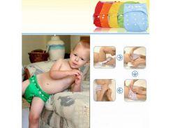 Многоразовые подгузники комплект(+два вкладыша) Универсальный Для мальчиков