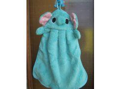 Полотенце  Голубой