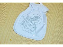 Мешочек с рисунком для крещения Мешочек с вышивкой Интерлок