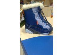 Сапоги Demar SNOW MAR c (сине-голубые) 26-27
