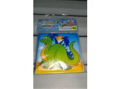 Книжка пищалка для купания Динозавр