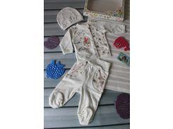 Подарочный комплект для новорожденного 56 р