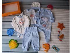 Подарочный нарядный комплект на мальчика 56 р.