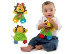 Мягкая игрушка-прорезыватель Львенок