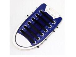 Силиконовые шнурки для обуви Черный