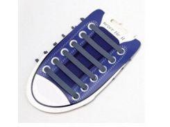 Силиконовые шнурки для обуви Серый