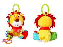 Плюшевая игрушка для коляски и кроватки Лев