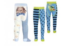Детские колготки TIP-TOP Conte-kids веселые ножки 80-86, Полосатые