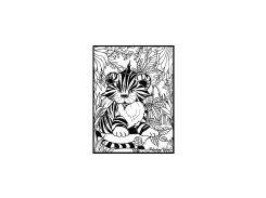 Colorvelvet Tiger