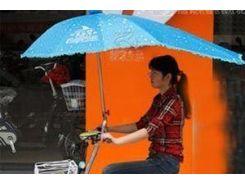 Зонт для велосипеда