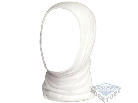 Бандана (Бафф) многофункциональная белая (100% Polyester) Киев