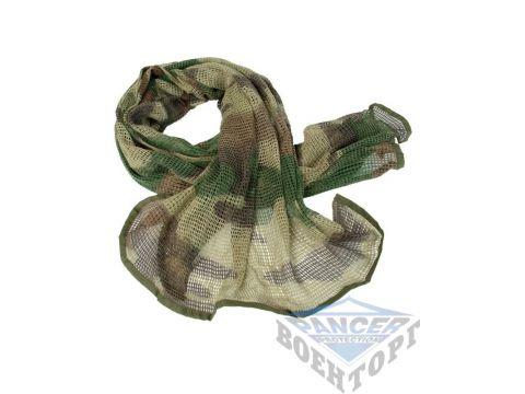 Сетка-шарф маскировочная камуфляж CCE 190х90 см (65% полиэстер/35% хлопок) Киев