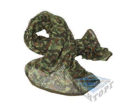 Сетка-шарф маскировочная камуфляж флектарн 190х90 см (65% полиэстер/35% хлопок) Киев