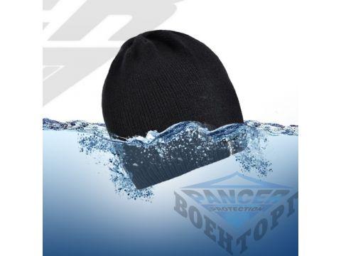 Водонепроницаемая шапка DexShell черная Киев