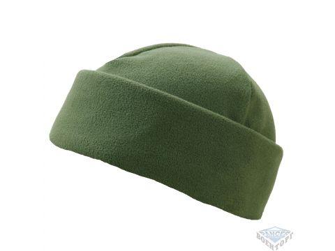 Зимняя шапка олива двойной флис Киев