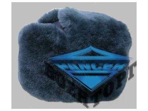 Шапка ушанка ВВС синяя натуральный мех Киев