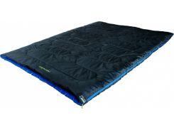 Спальный мешок High Peak Ceduna Duo /+3°C (Right) Black/blue