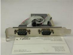 Контроллер PCI to 2*Serial (COM) port RS232