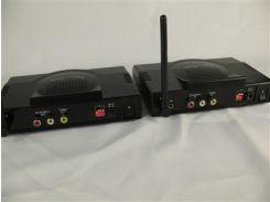 Удлинитель видеосигнала+аудио беспроводной до 25м AverSender 300 2,4GHz Wireless