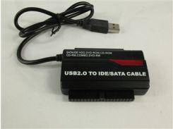 Переходник USB to SATA+IDE (PATA) SATA 3.0 Ready с блоком питания