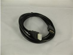 Кабель HDMI-HDMI V-1.4 1,5m 19PM/M OD-7.5mm Black (без оплетки)