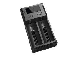 Зарядное устройство от 220V/12V, Nitecore i2 NEW, Ni-Cd/Ni-Mh/Li-Ion/LiFePO4 (3.6-4.35V), LED, Box