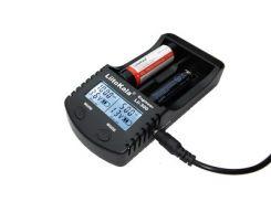 Зарядное устройство от 220V/12V, Powerbank Liitokala Lii-300, 2 канала, Ni-Mh/Li-ion, Test, LED, Box