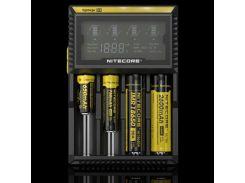 Зарядное устройство от 220V/12V, Nitecore D4, Ni-Cd/Ni-Mh/Li-Ion, Box