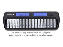 Зарядное устройство от 220V/12V, everActive NC-1600, 16 каналов, Ni-Cd/Ni-Mh, Refresh, LCD, Box