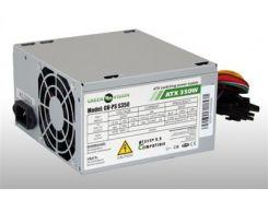 Блок питания компьютерный 350W 8cm GreenVision ATX