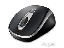 Мышь беспроводная Microsoft Mobile 3000 Black-Silver